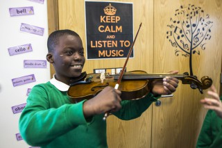Apollo Music at Orchard School, Hackney. London.